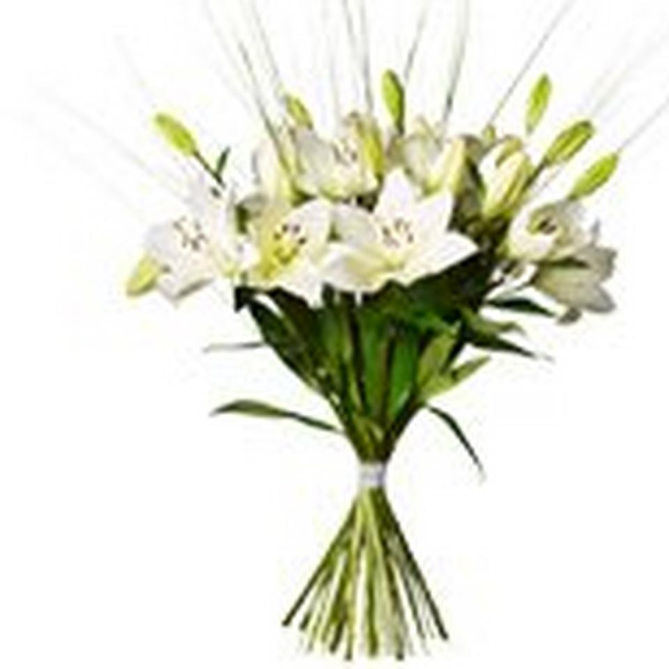 Image 1 of 1 of Bouquet Dashing Lilies