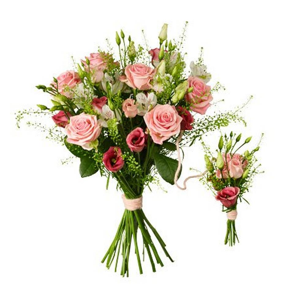 Image 1 of 1 of Babybirth bouquet pink
