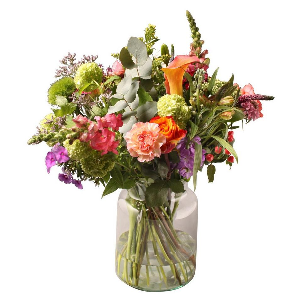 Image 1 of 1 of Ecological bouquet with vase