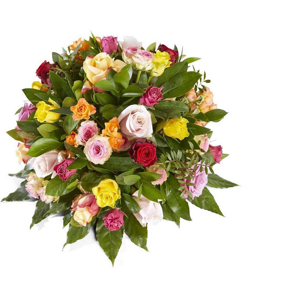 Image 1 of 1 of Funeral: Embrace me; Funeral Bouquet Biedermeier