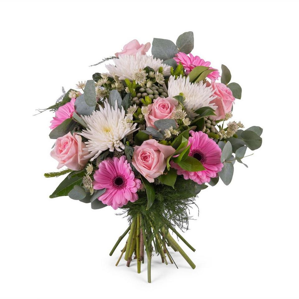 Image 1 of 1 of Bouquet of Anastasias and Roses