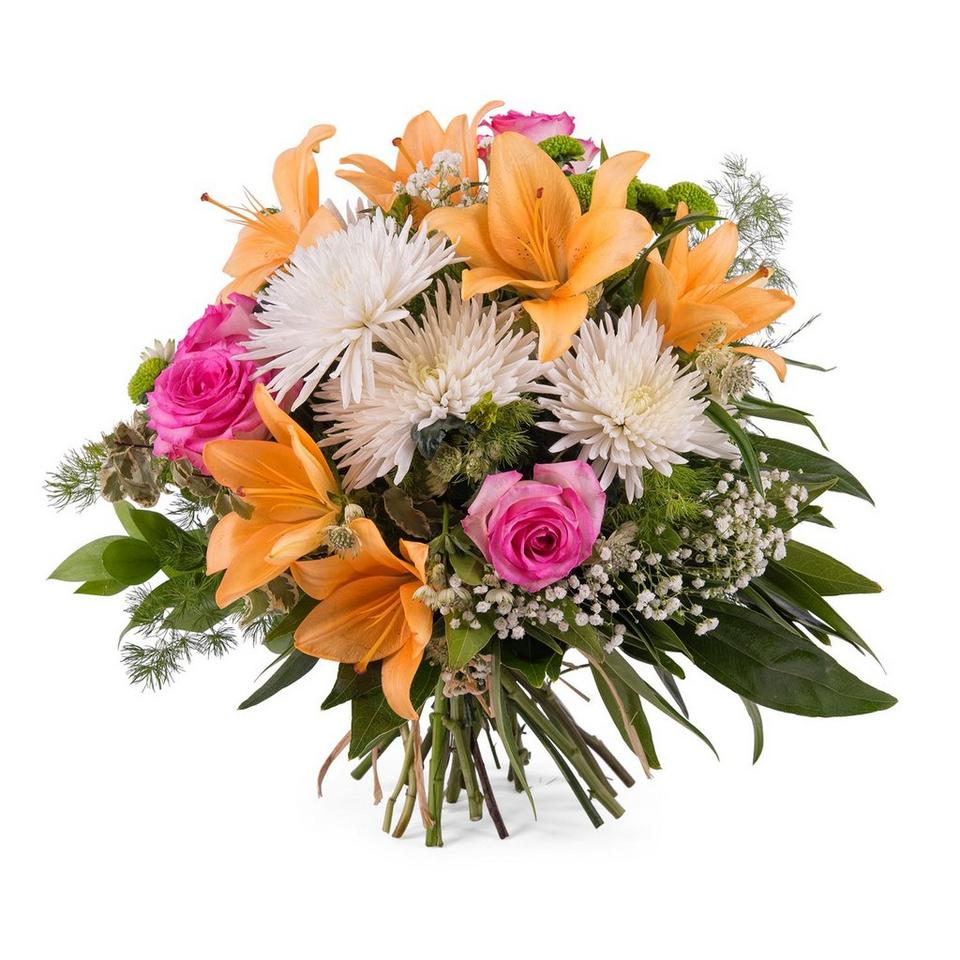 Image 1 of 1 of Spring Bouquet with Anastasias and Lilies