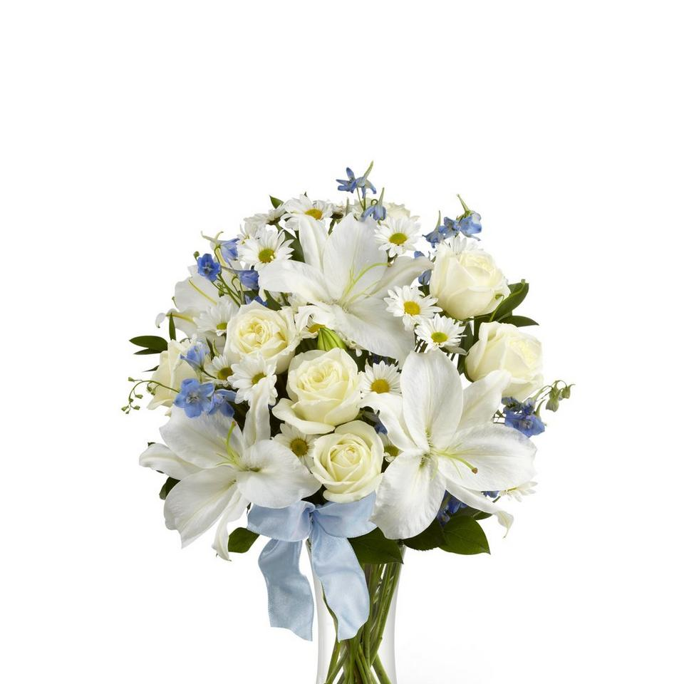 Image 1 of 1 of Sweet Peace Bouquet vase included
