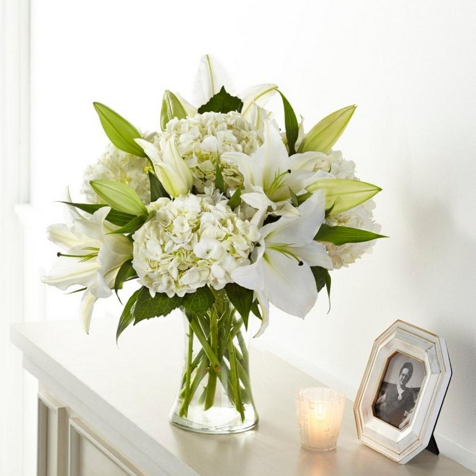 Image 1 of 1 of Compassionate Lily Bouquet