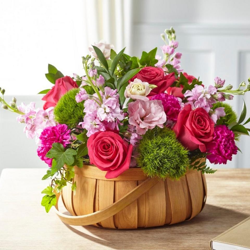 Image 1 of 1 of Radiance in Bloom Basket