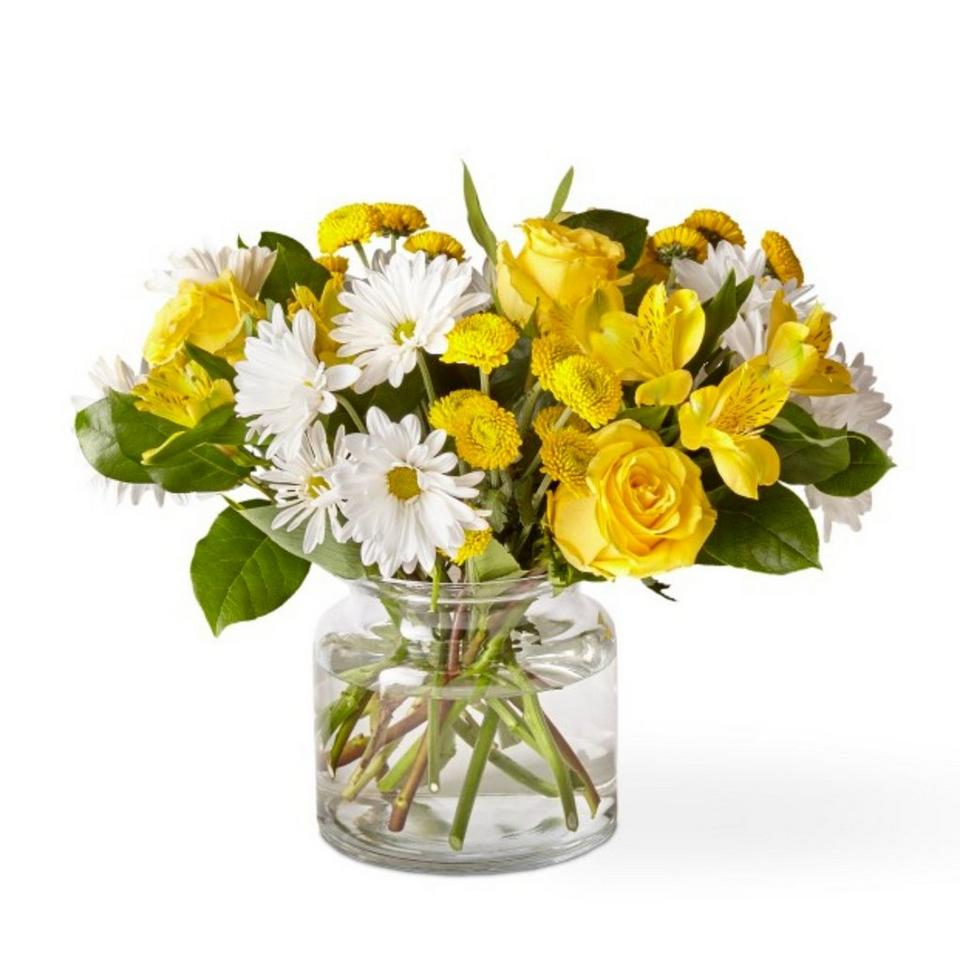 Image 1 of 1 of Sunny Sentiments Bouquet